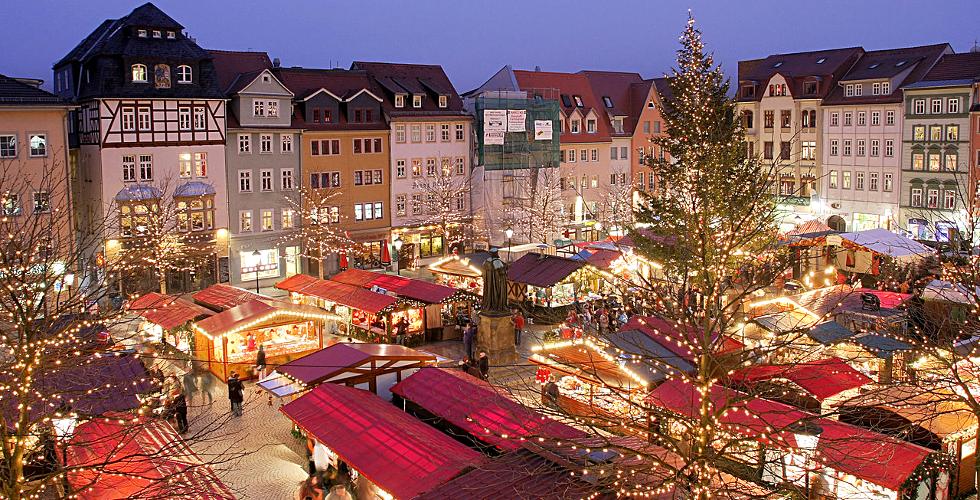 panorama mercato natalizio