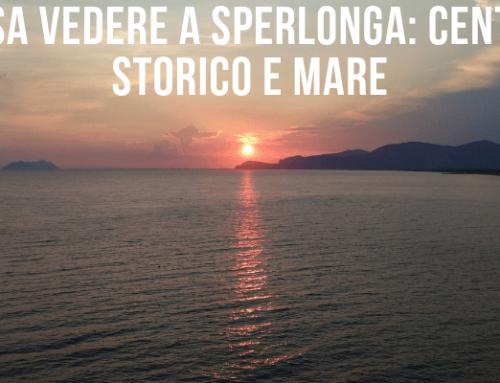 Cosa vedere a Sperlonga: Centro storico e mare