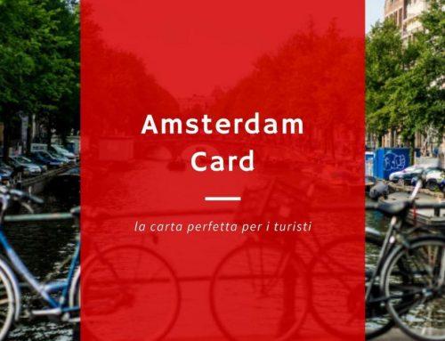 Amsterdam Card – Perfetta per i turisti